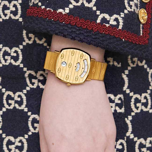 Dong ho Gucci Grip watch, 27 mm