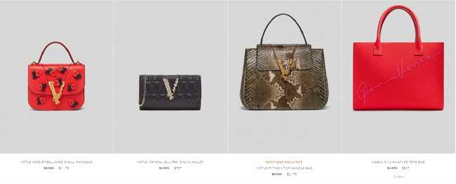 Giá một số mẫu túi Versace chính hãng