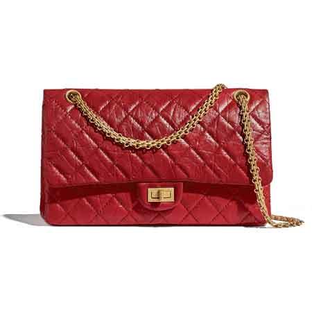 Túi Chanel 2.55 size 28 màu đỏ
