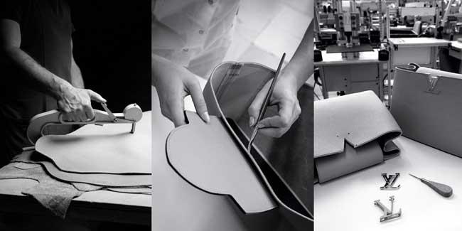 Túi xách LV Louis Vuitton Capucines được làm thủ công bởi nghệ nhân