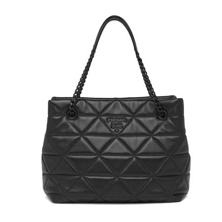 Nappa Leather Prada Spectrum Tote