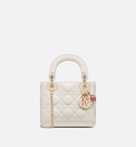 Mini Lady Dior Dioramour Bag