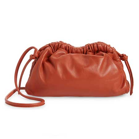 Ly hợp da Mansur Gavriel Mini Cloud