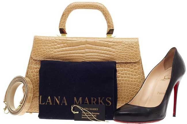 Lana Marks đứng thứ 5 trong top thương hiệu túi xách đắt nhất thế giới