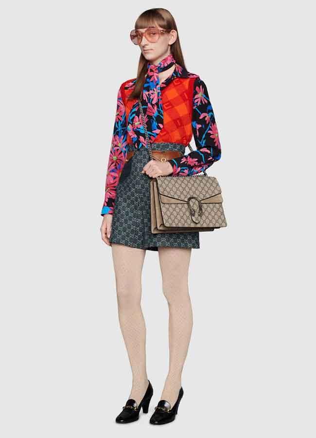 Túi Gucci đầu rồng size Medium cỡ trung