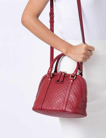 Túi xách nữ Gucci MicroGuccissima